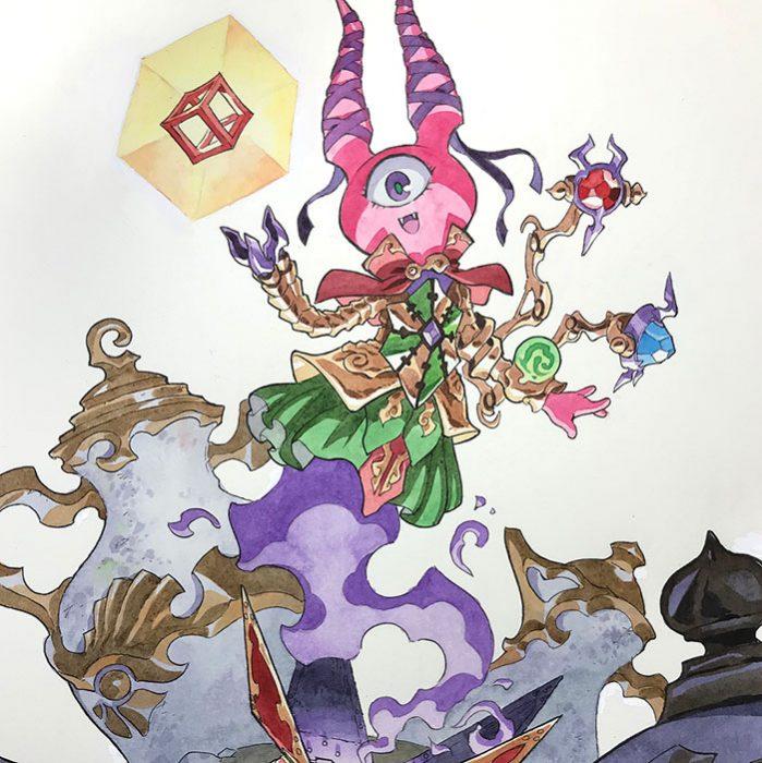 Dibujos de Thomas Romain e hijos