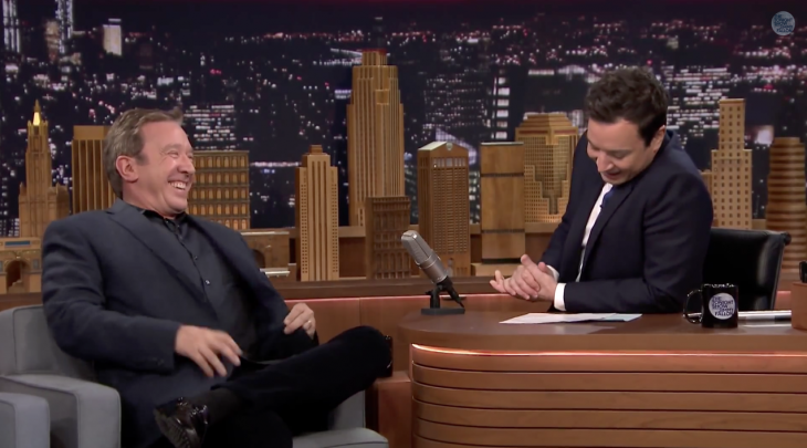 Tim Allen con Jimmy Fallon
