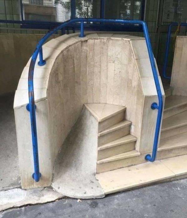 Arquitectos fail escalera