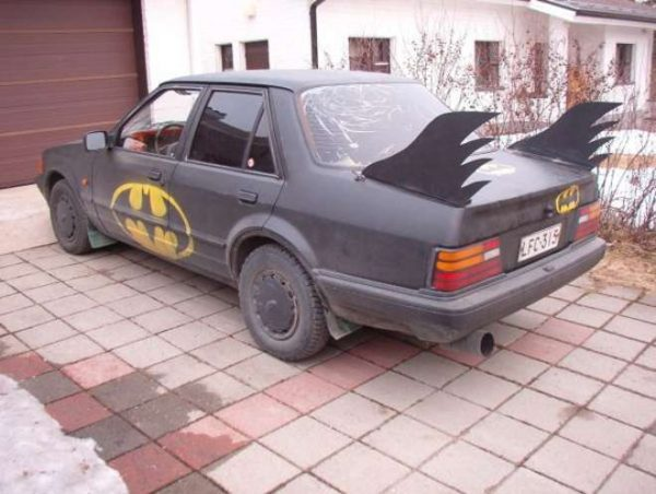 autos feos batman