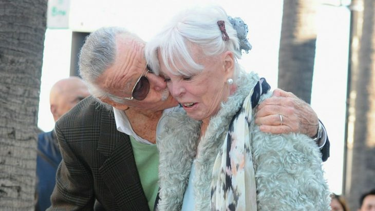 Stan Lee y Joan