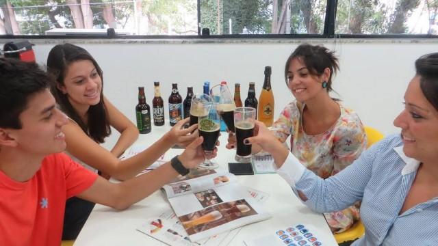 cerveza en el trabajo