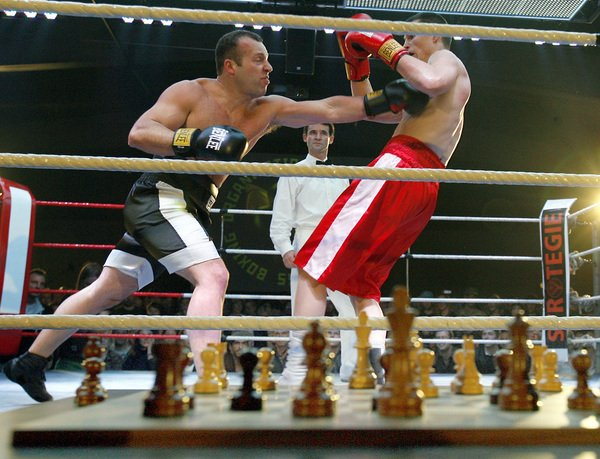 boxe ajedrez
