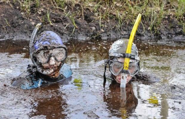 buceo pantano