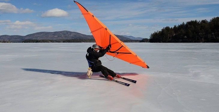 concurso esquiando
