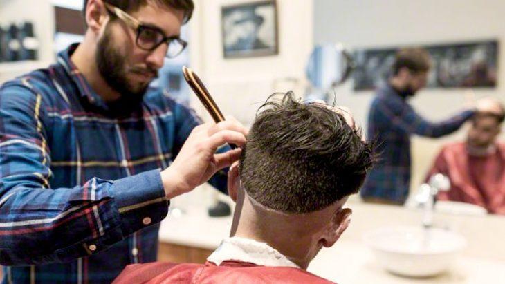 En el barbero