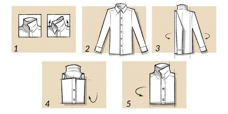 Doblar una camisa