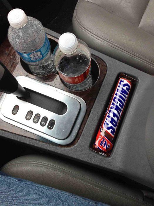 cosas que caben en otras chocolate