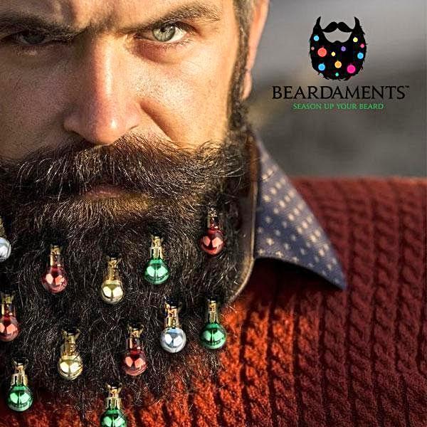 Esferas en la barba