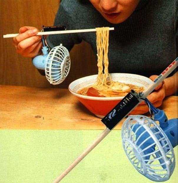 Inventos japón fideos