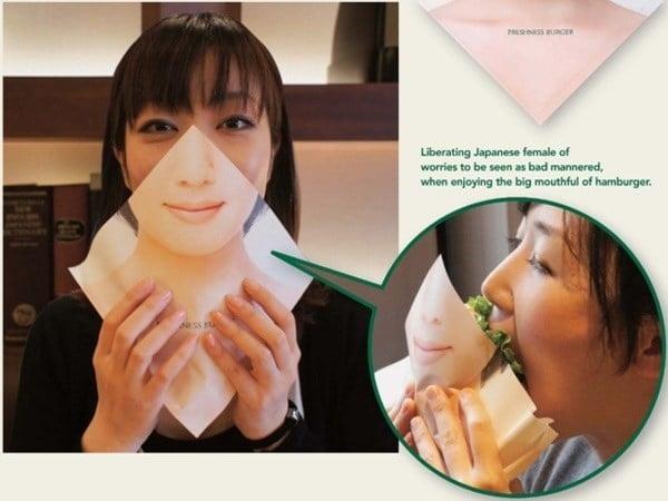Inventos japón servilleta