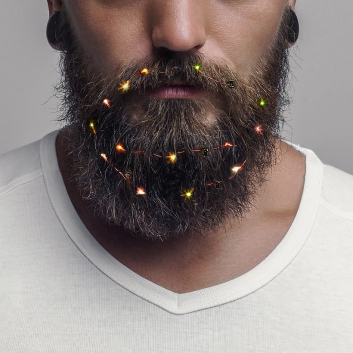 Luces en la barba