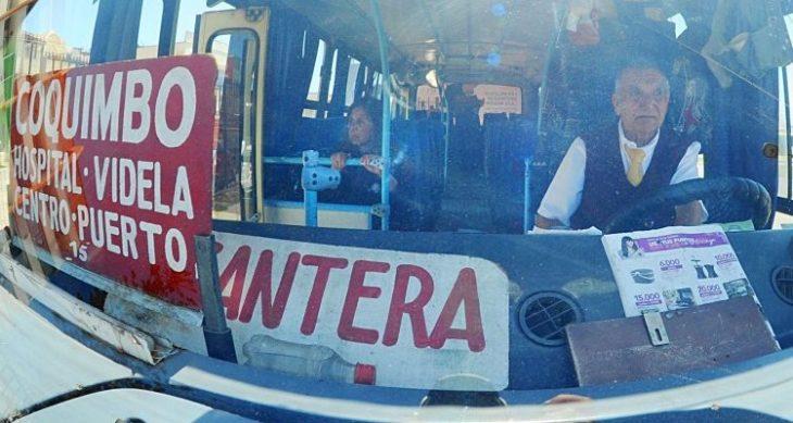 Autobús en Chile