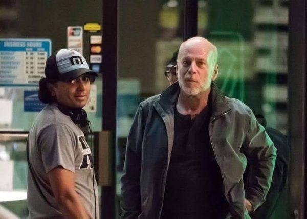 Bruce Willis y Shyamalan