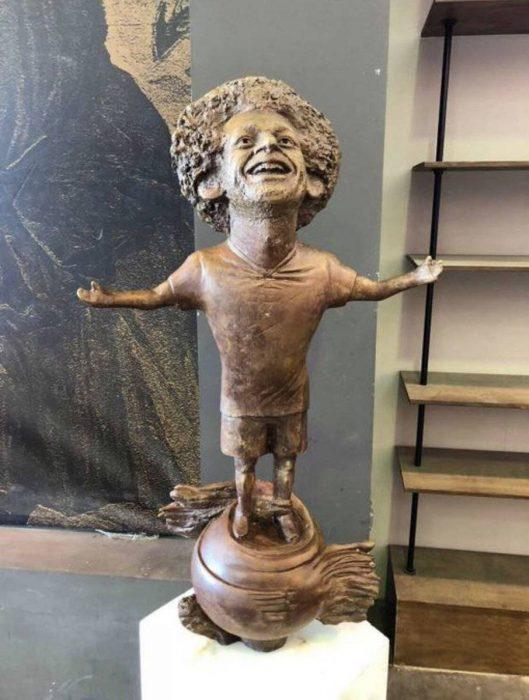 Estatua de Mohamed Salah