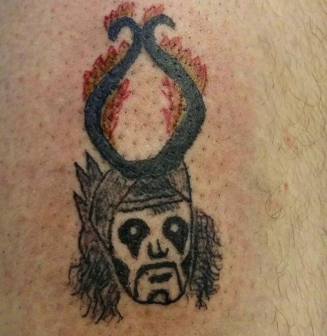 Tatuajes feos demonio