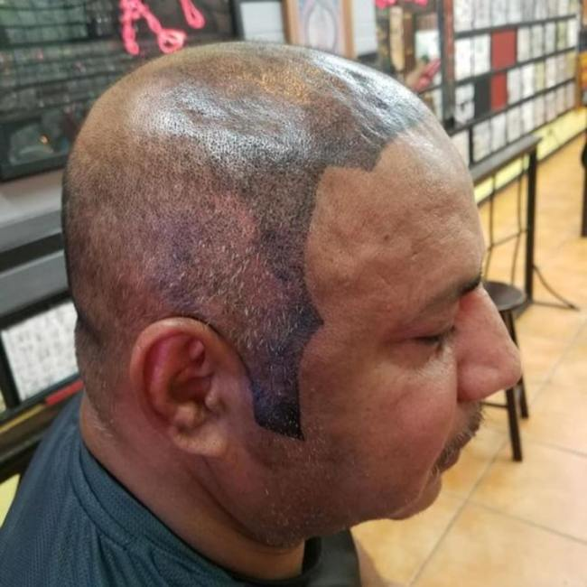 Tatuajes feos cabello