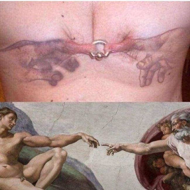 Tatuajes feos capilla