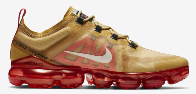 Air VaporMax 2019 Crimson Gold
