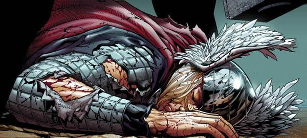 muerte de thor