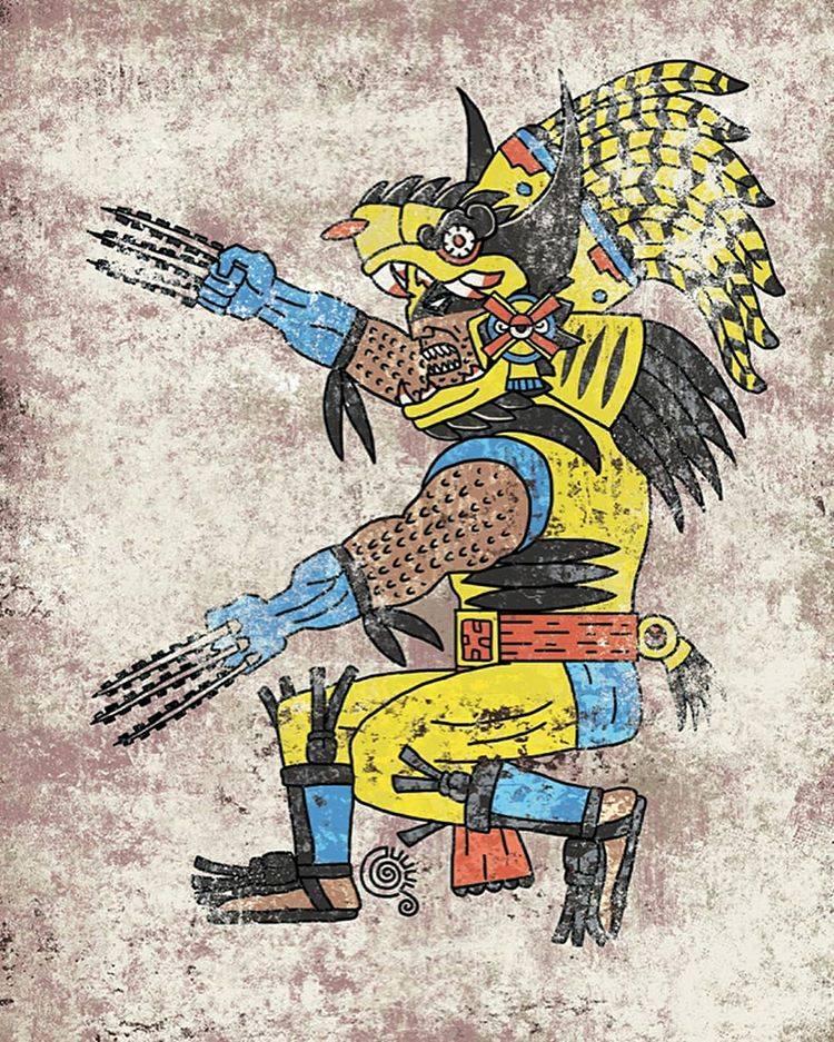 Así Verían Tus Superhéroes Si Fueran Deidades Aztecas