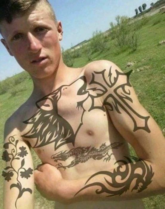 Peores photoshops tatuajes