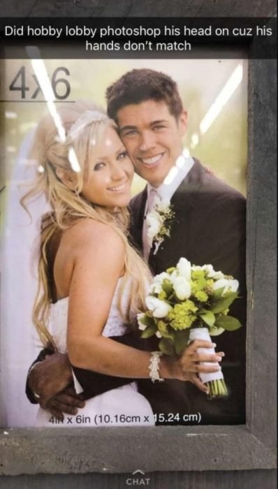 Peores photoshops boda
