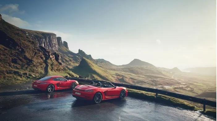 718 CAYMAN T AND BOXSTER T