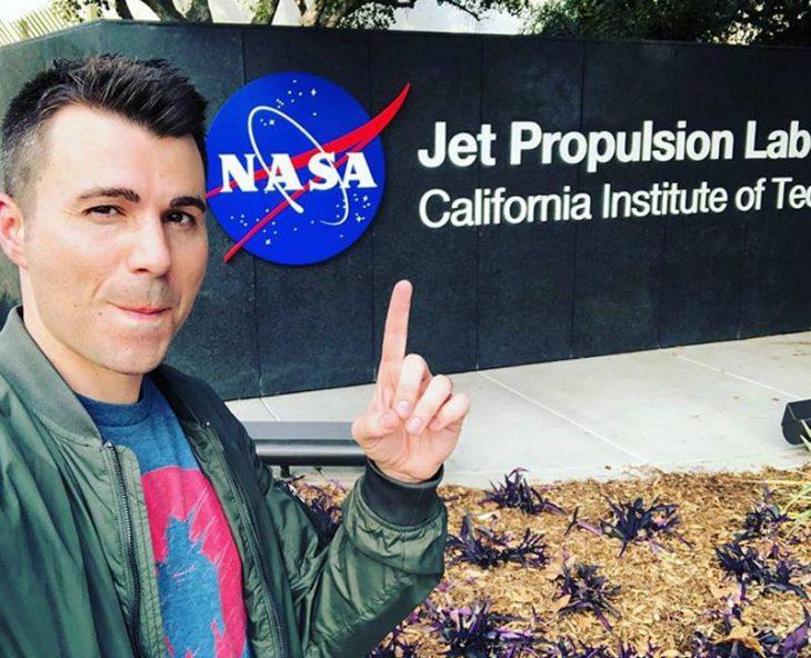 mark rober NASA