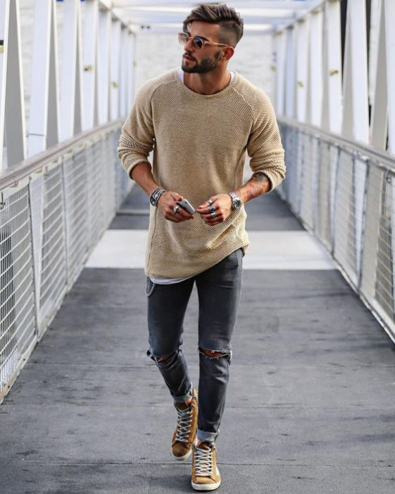 jeans cortos