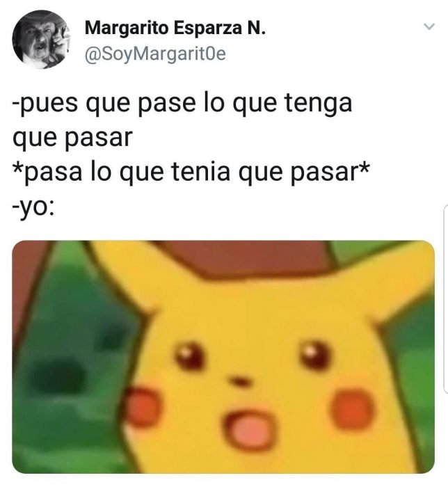 pikachu sorprendido meme