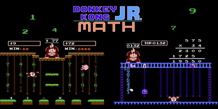 donkey kong math