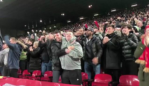 Aficionado ciego del Liverpool