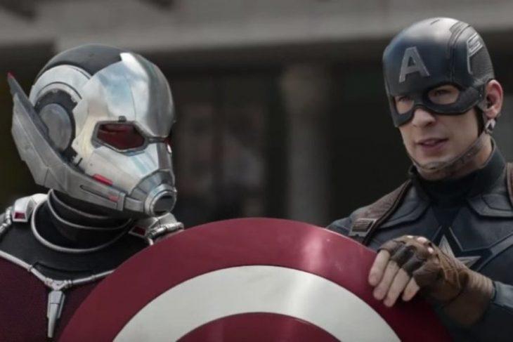Ant Man y Capitán América
