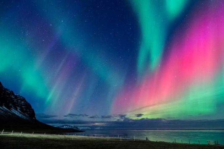 cosas que encuentras en islandia aurora boreal