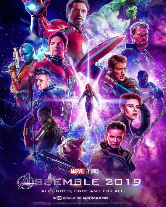avengers end game 4 poster