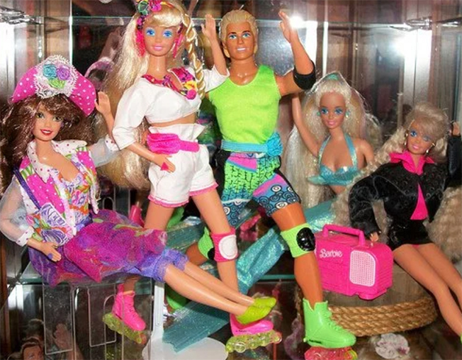 Barbie Rollerblade