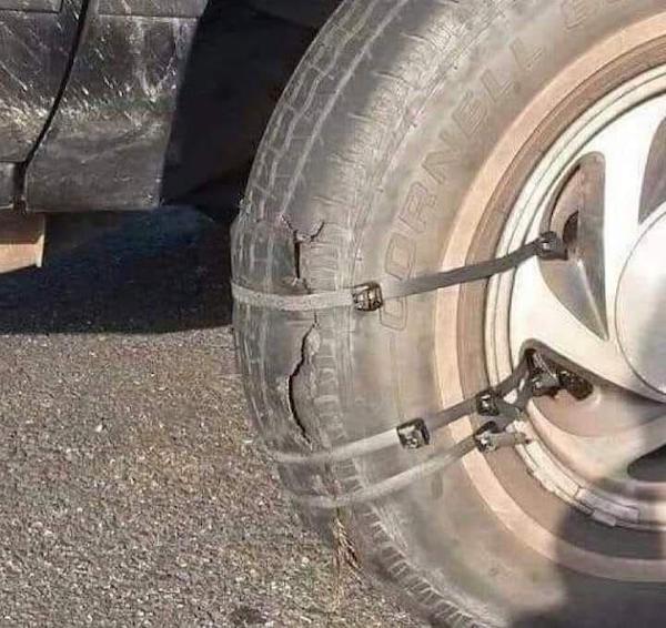 Peores conductores llanta