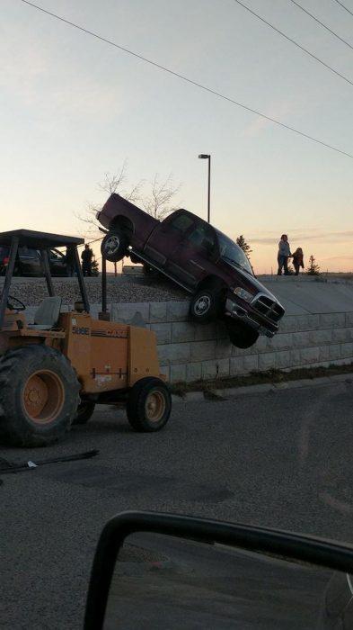 Peores conductores construcción