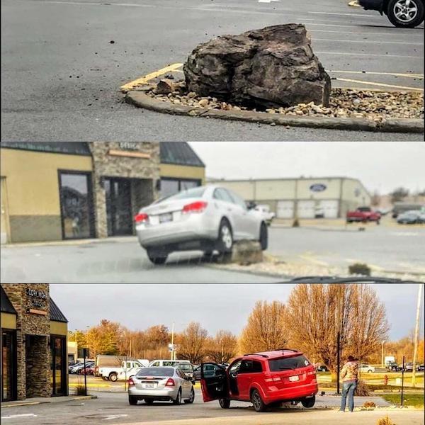 Peores conductores piedra