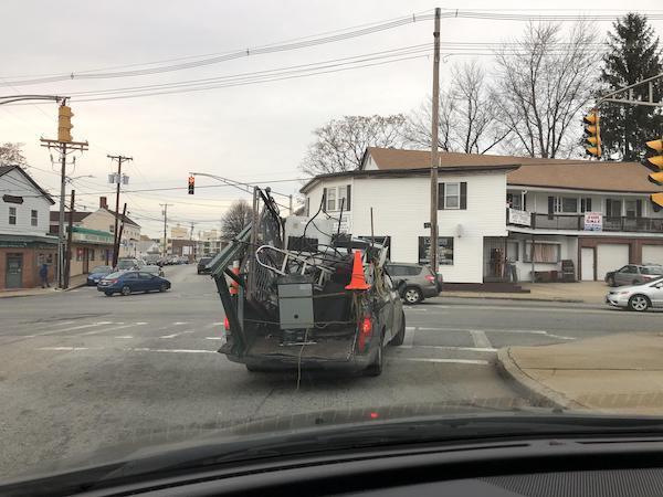 Peores conductores mudanza