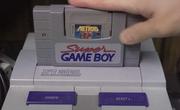 curiosidades game boy super nintendo