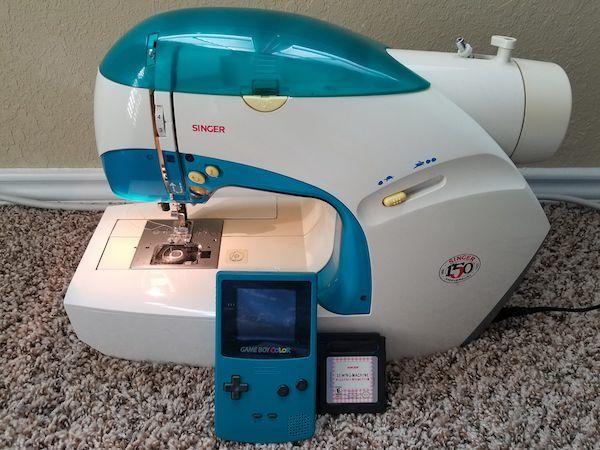 curiosidades game boy máquina de coser