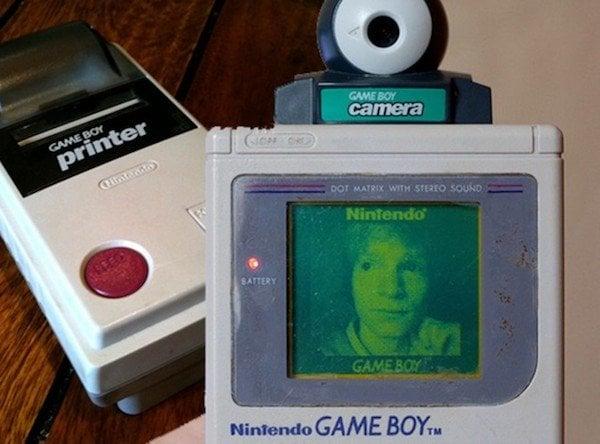 curiosidades game boy cámara