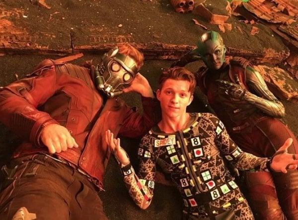 detrás de cámaras avenger 3