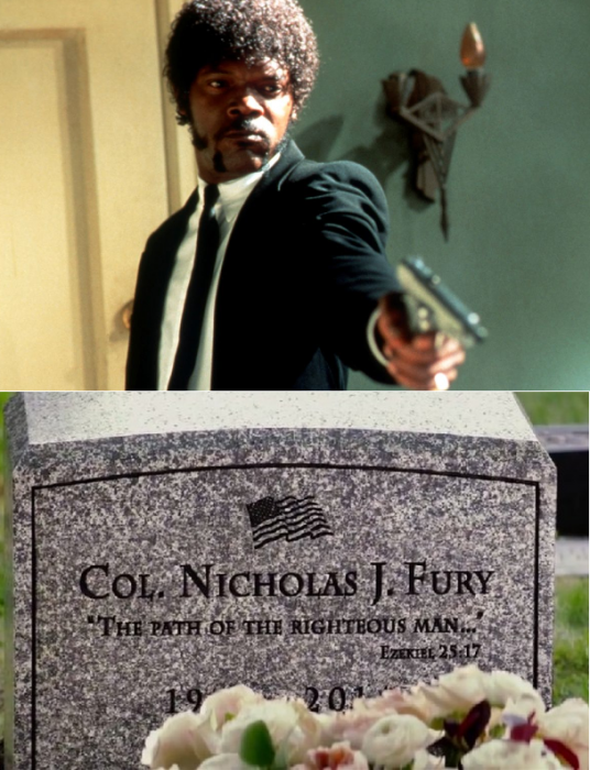 easter eggs nick fury