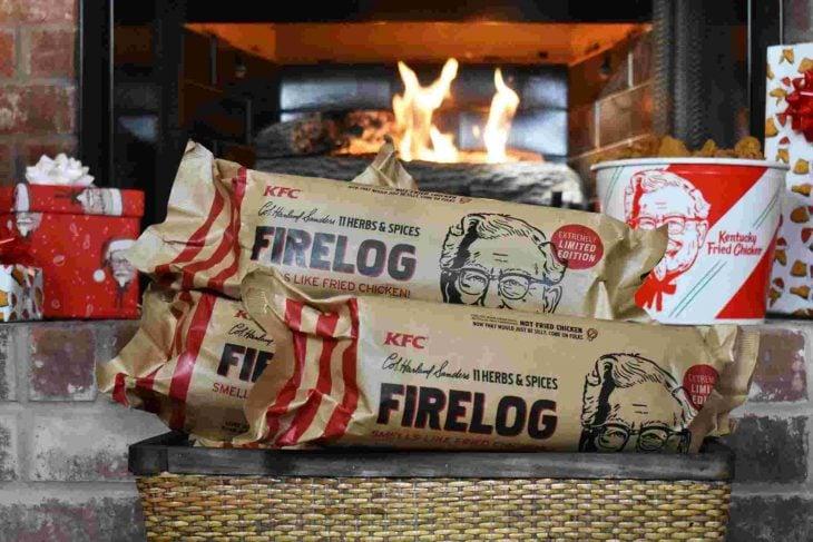 fire logs kfc