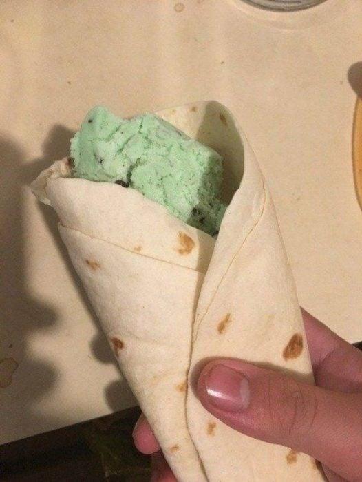 genios culinarios burrito helado