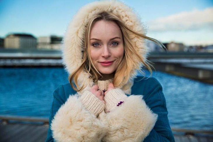 chica de islandia