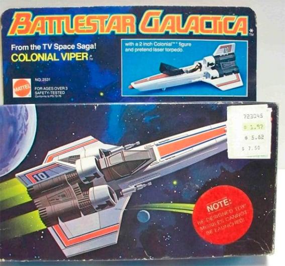 Nave espacial de Battlestar Galactica